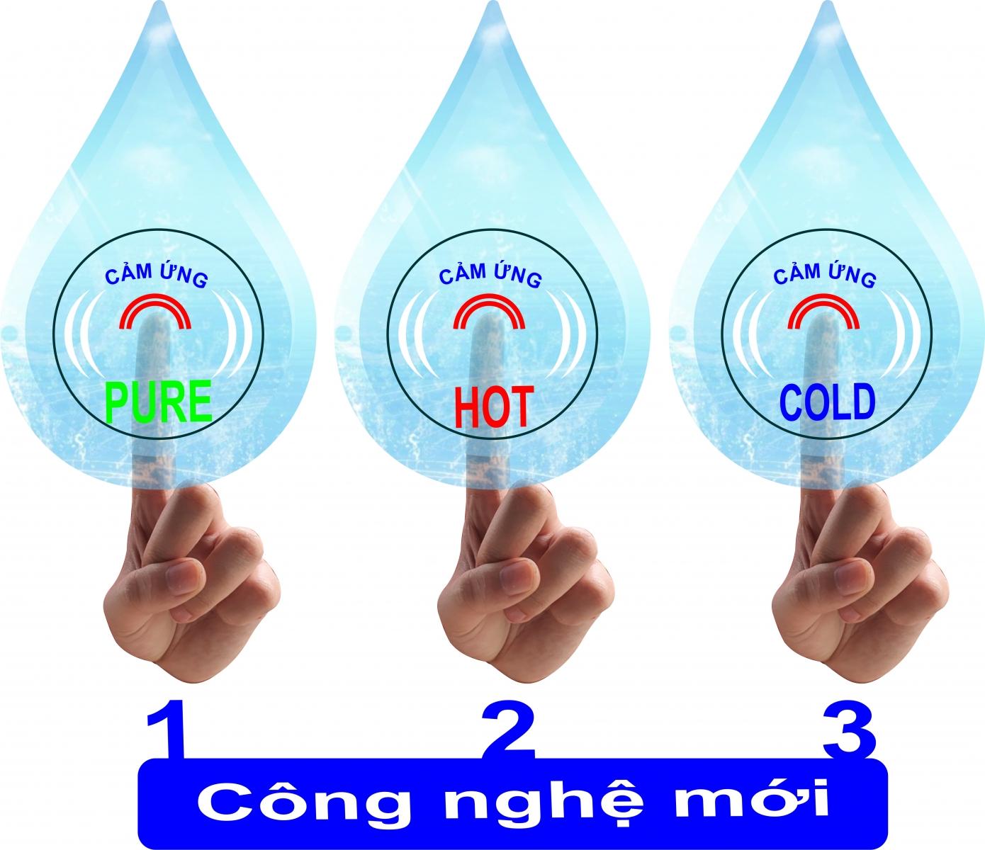 Máy lọc nước nóng lạnh 3 vòi TTL-03RO | maylocnuocnonglanh.vn